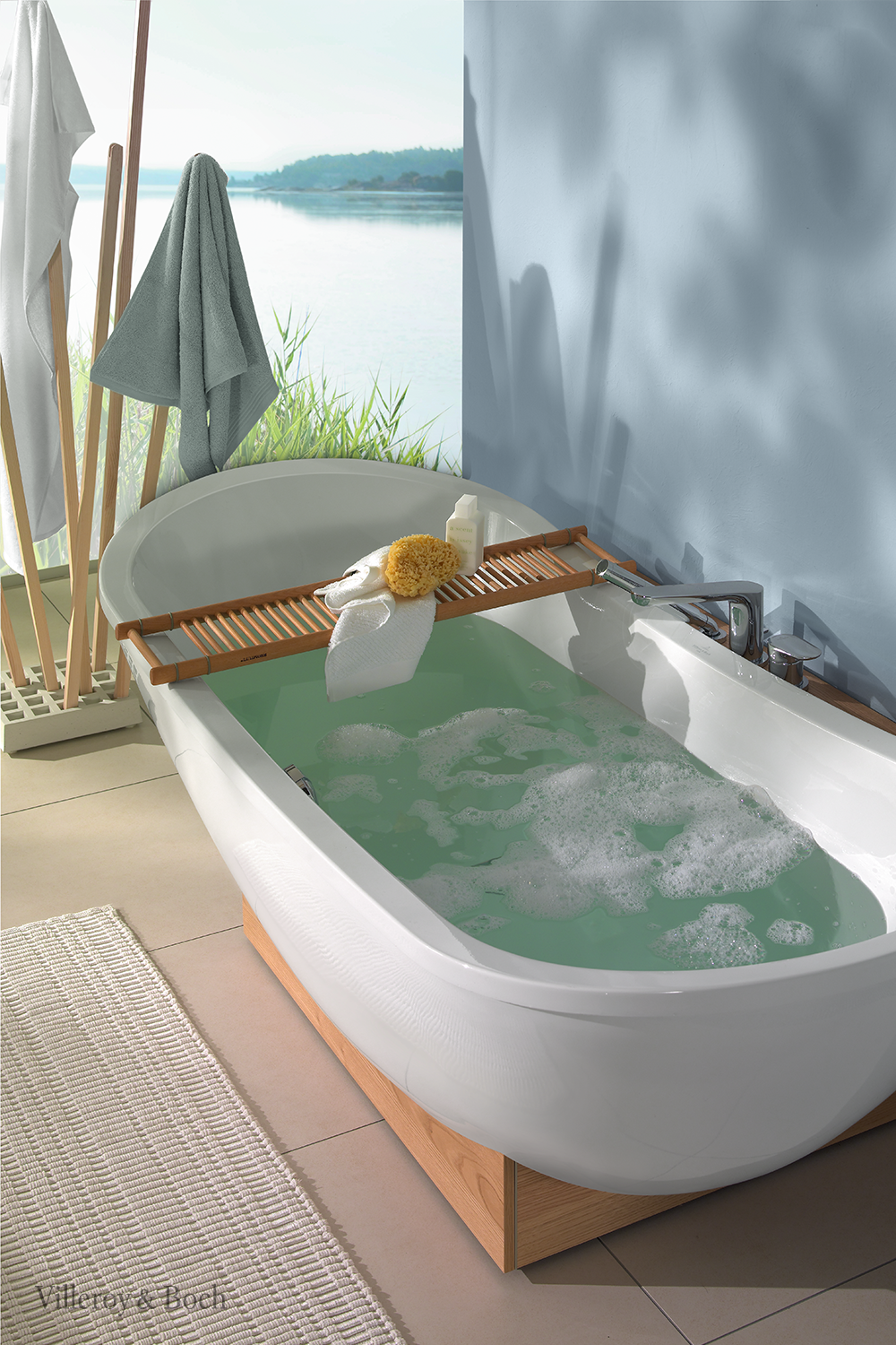 Choose This Freestanding Bathtub To Switch On Vacation Mode At Home In 2020 Badewanne Badezimmer Badezimmer Natur