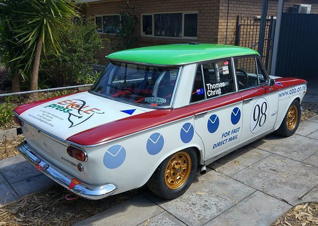 Prep Done And Ready For Classic Adelaide Rally Fiat Fiat1500