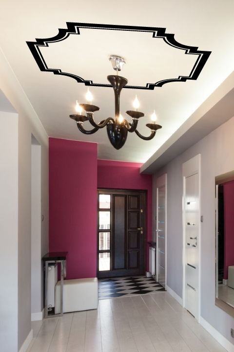 Stick \'em Up! Decorative Decals for the Home | korytarz | Pinterest ...