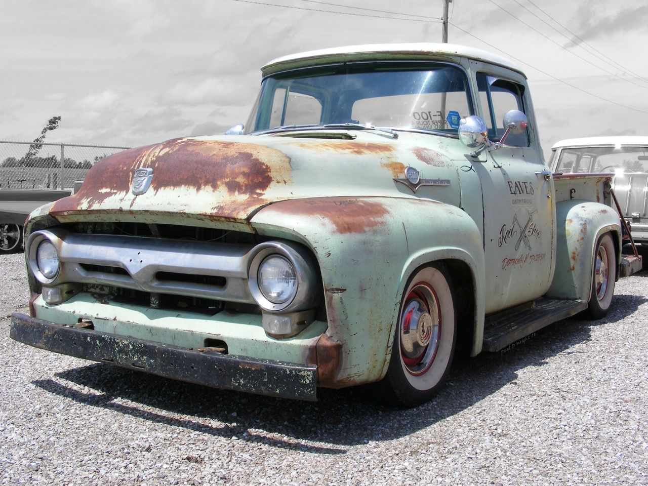 56 Ford Hauler Great Project Truck Classic Pickup Trucks
