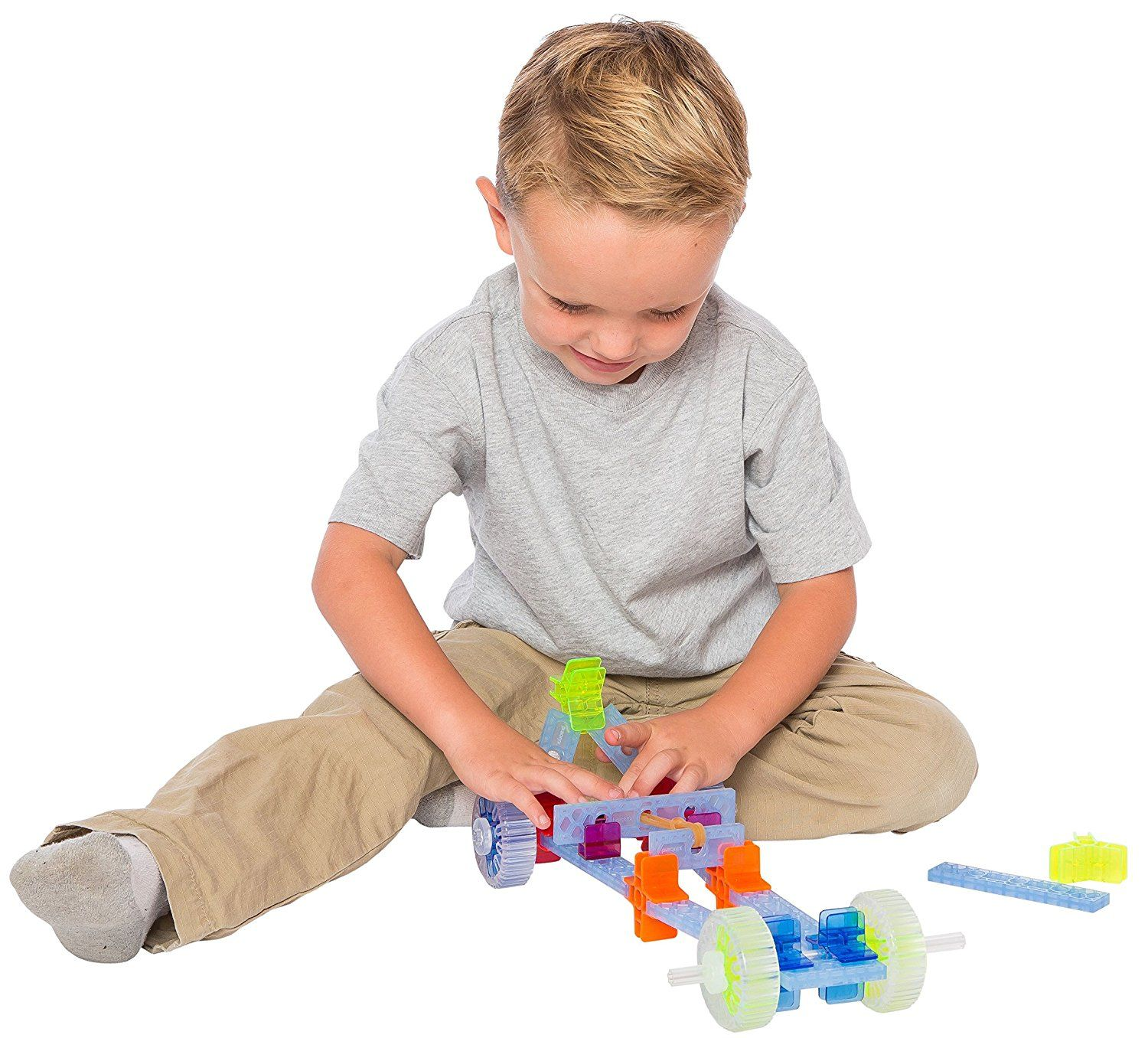Brackits Driver Set. Unleash your child's unlimited potential with award-winning Brackitz! Brackitz is a toy that encourages children to create, invent, and, experiment. Unlike other building toys, Brackitz' unique connect-anywhere system allows builders of all ages to design and construct any structure they imagine.