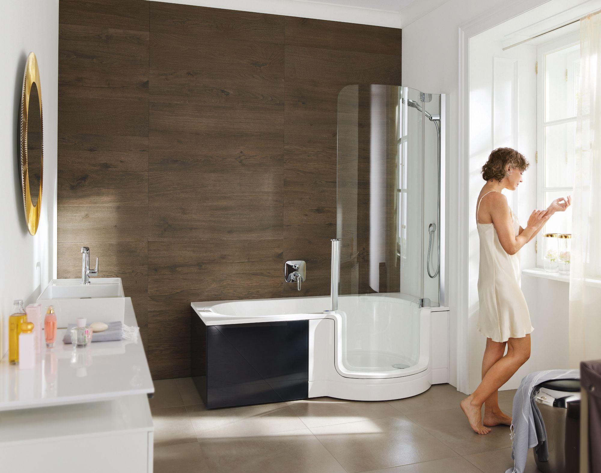 Komfortabel Und Praktisch Walk In Duschen Duschbadewanne Badewanne Eckig Und Wanne Mit Dusche