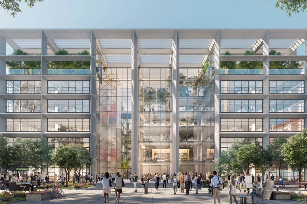 Work begins on flexible, energy-efficient, greenery-filled office