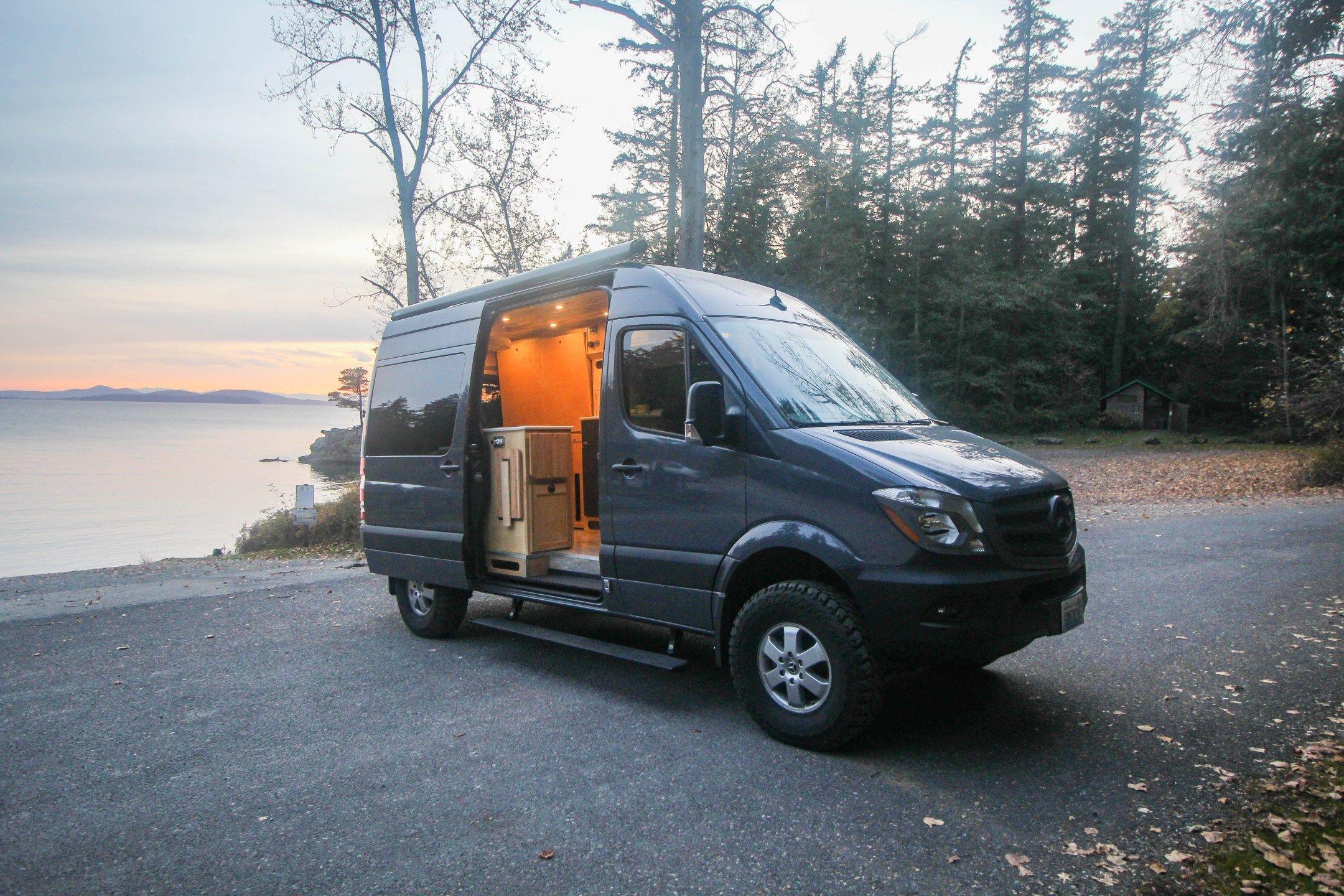 Half Dome Vans Campervan Interior Camper Van Conversion Diy