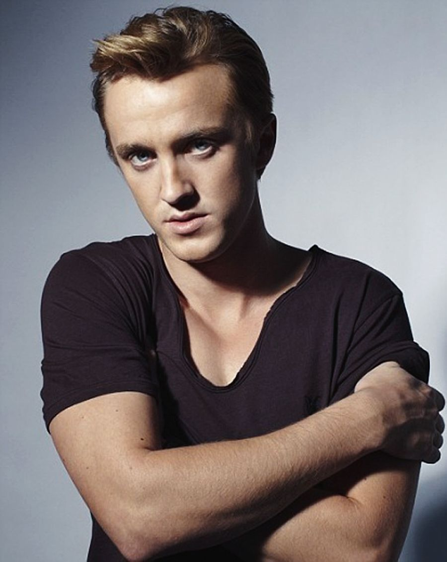 Tom Feltons got the hots for two of his Harry Potter co-stars