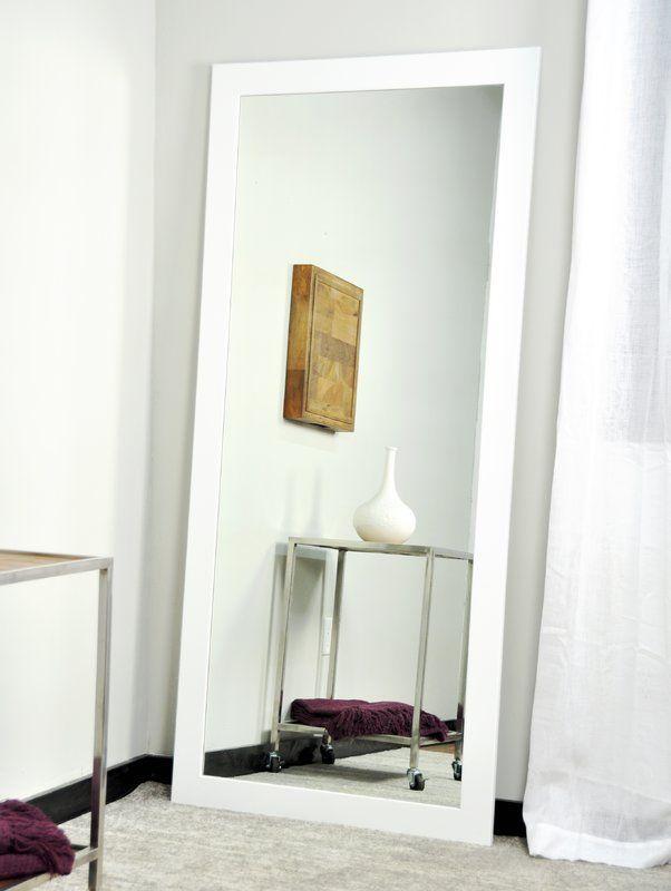 Jameson Modern Contemporary Full Length Mirror In 2020 Contemporary Full Length Mirrors Full Length Mirror Bedroom Mirror