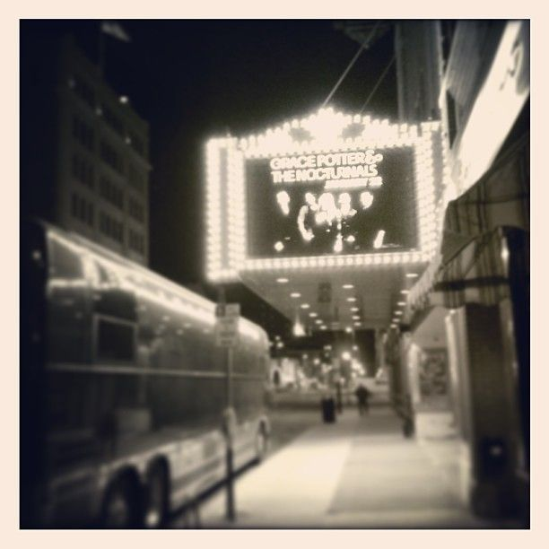Meyer Theater, Green Bay....Grace Potter and The Nocturnals Jan.22 2013...Photo by evansiegle