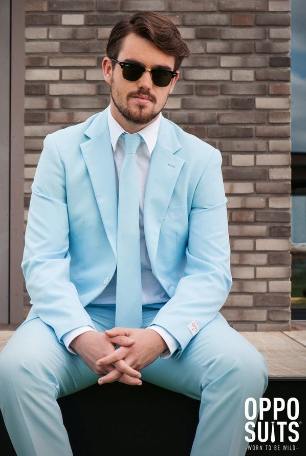 OppoSuits Cool Blue Adult Suit | Halloween Costumes | Pinterest ...
