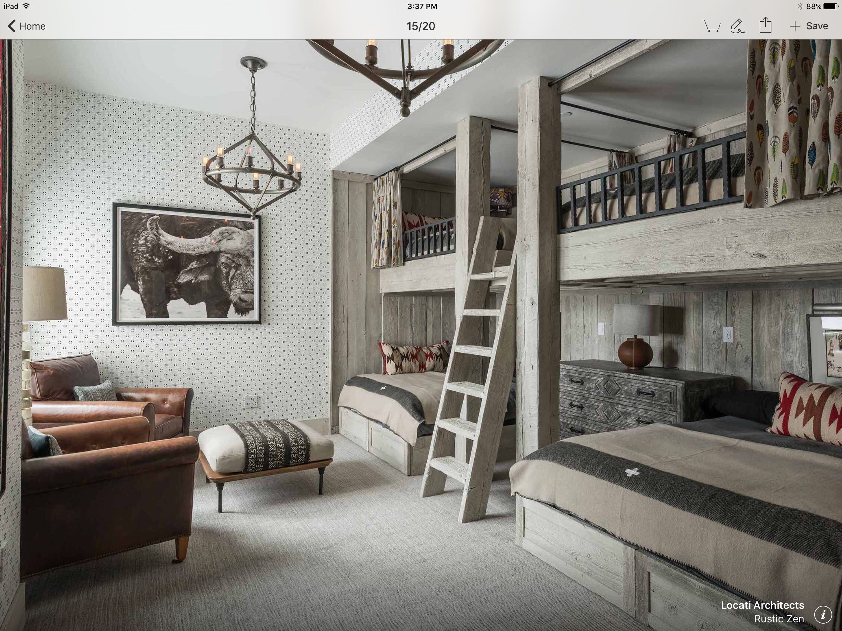 Queen size loft bed with stairs  Pin by Mindy Allen on Twin guest room  Pinterest  Bunk rooms