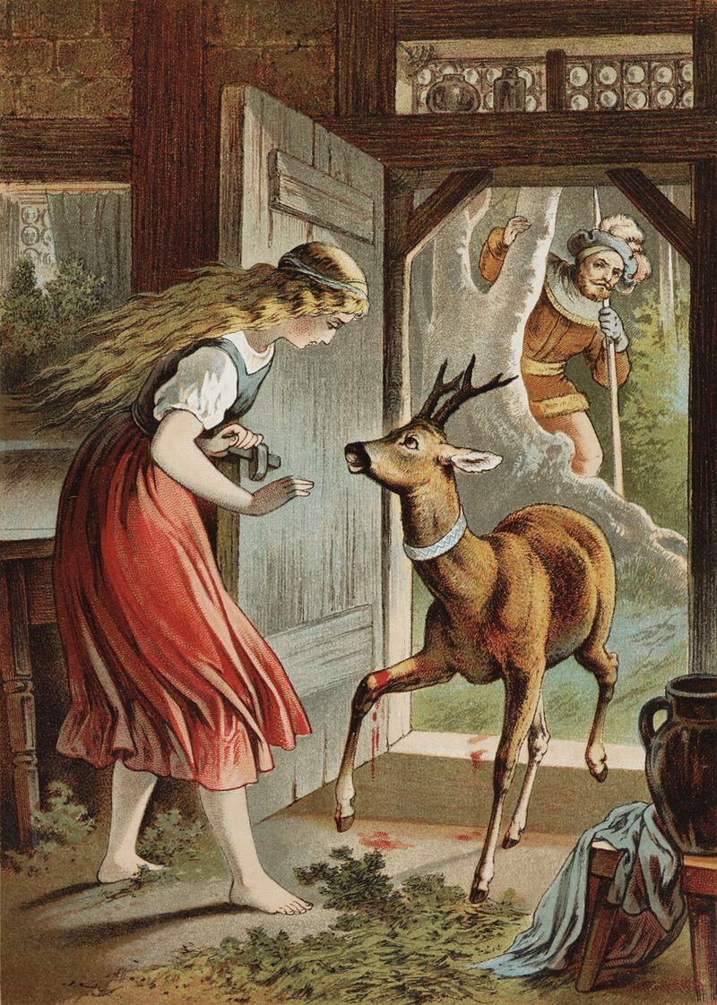 девушкой зеркалом картинки к немецким сказкам фото моих краффинов