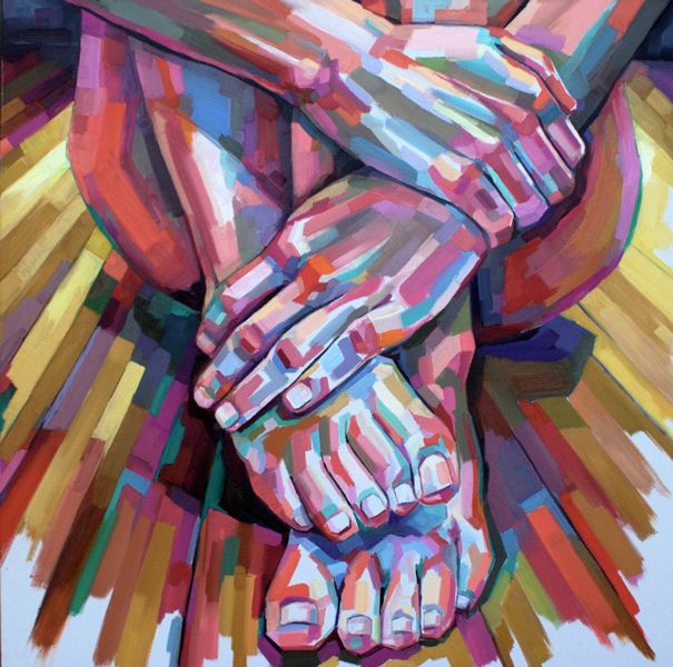 Check out Mary's new blog post, Cradling the Discomfort Within  http://www.maryomalley.com/2015/06/15/cradling-the-discomfort-within/  Image – Oil Painting by Artist Sheila Dunn  www.sheiladunnart.com #Spiritual #Meditation #Mindfulness