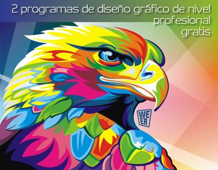 2 programas de dise o gr fico de nivel profesional gratis for Programas de diseno gratis