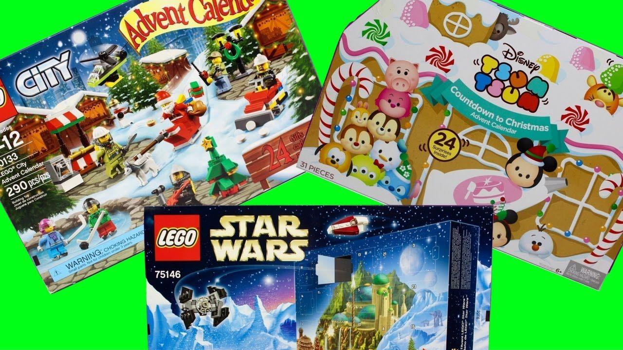 Tsum Tsum Disney Lego Star Wars Advent Calendar Day 7 Christmas