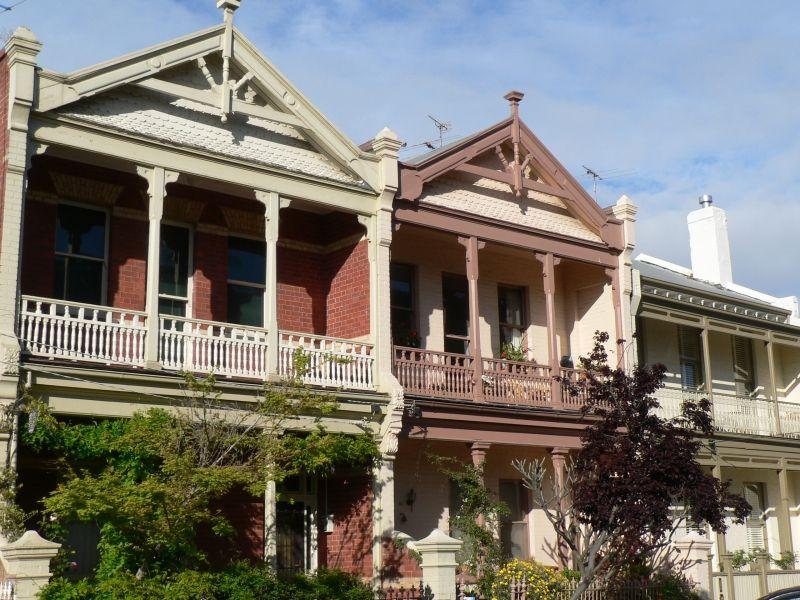 Timber Terraces In Madden Street Albert Park Australian