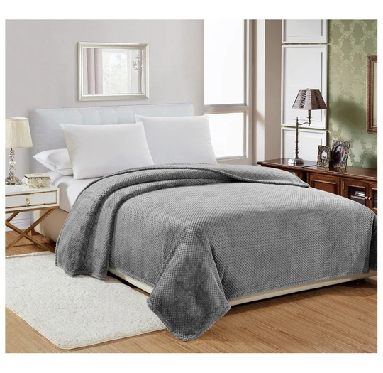 Daily Deal Blankets Popcorn Textured Microplush Blanket – UntilGone.com