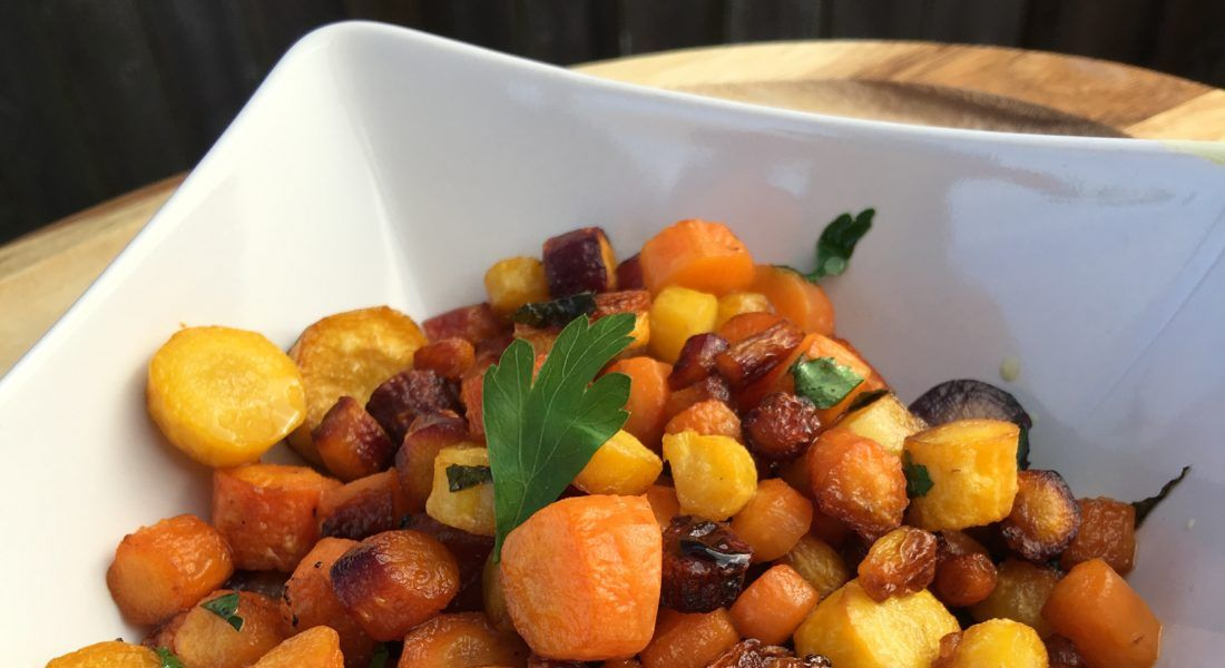 Allergy Free Balsamic Baked Carrots by The Allergy Chef ...