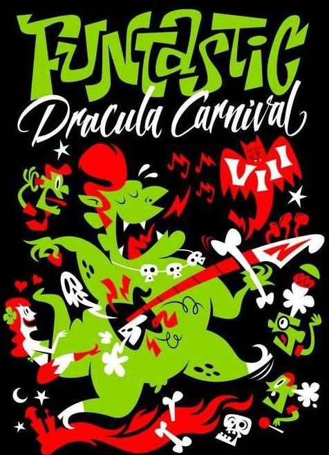 Halloween Carnival Posters | Horarios del Funtastic Dracula Carnival VIII en Benidorm