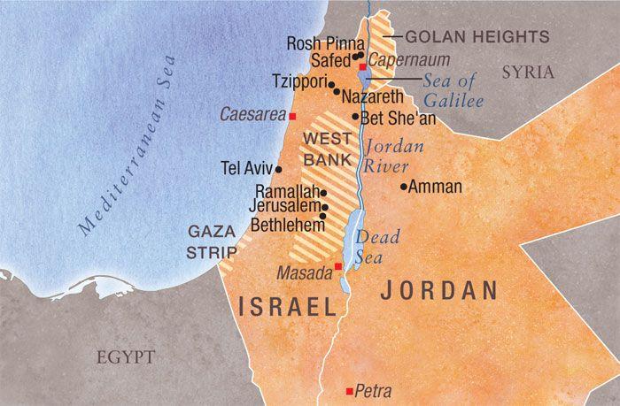 Large Map of Ancient Israel Israel Pinterest Israel