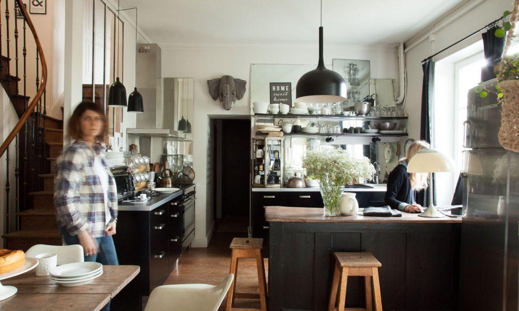 Florence Bouvier et Justine, 17 ans Bouvier, Florence et Maison cosy
