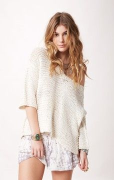 Free People Park Slope Sweater from Planet Blue. Try it on from ...