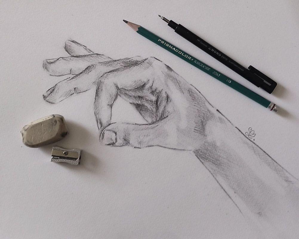 Бессмысленная картинка карандашом