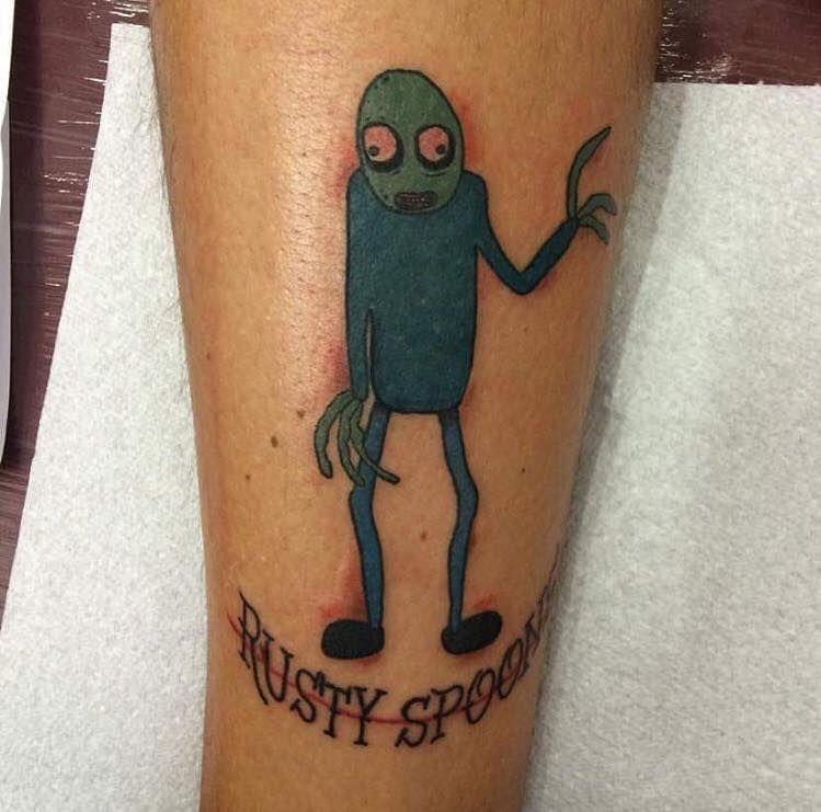 60 Stunningly Cute Cartoon Tattoos For Having Fun This