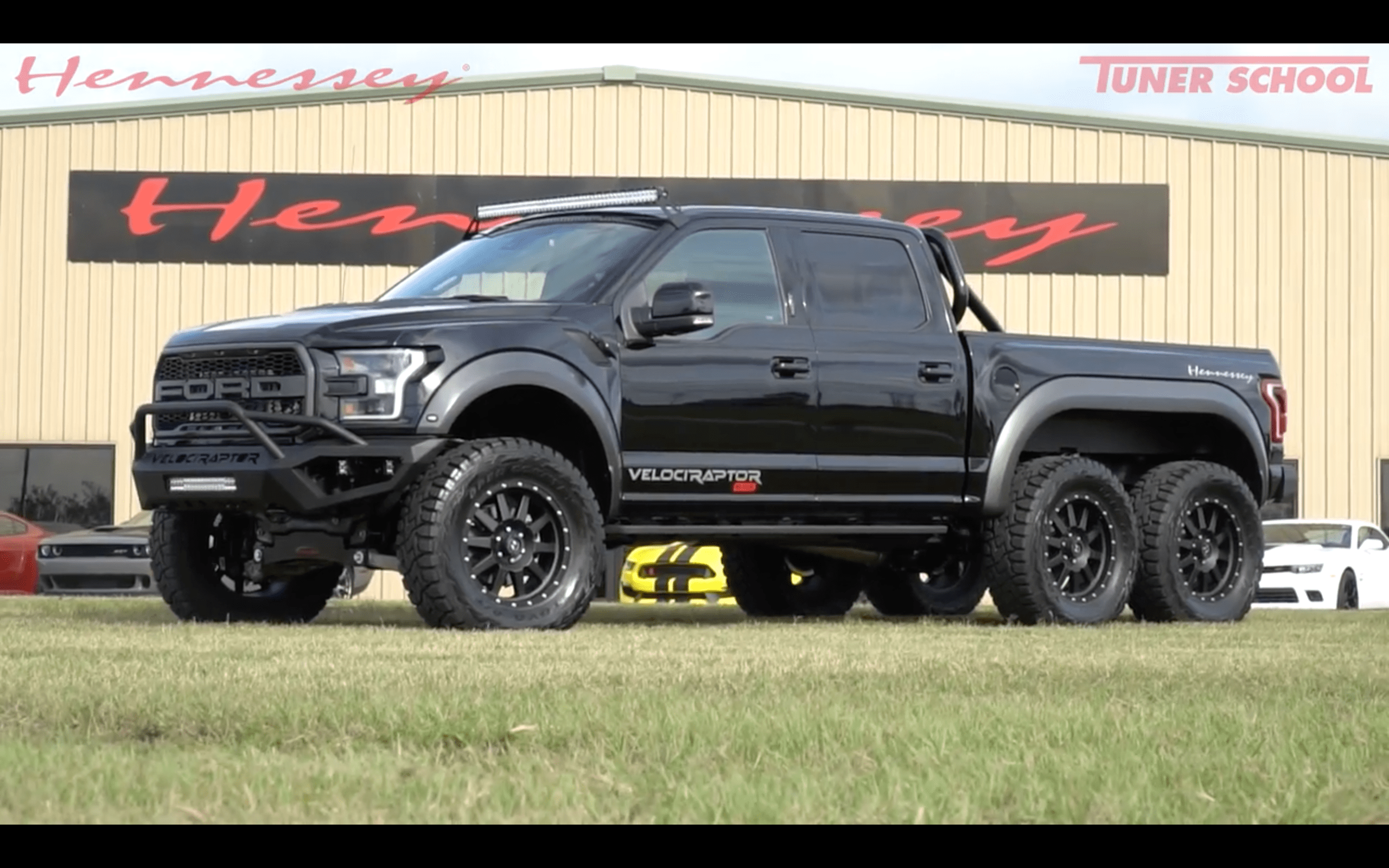 Video Hennessey Velociraptor 6 6 Ford Raptor Review Test Drive