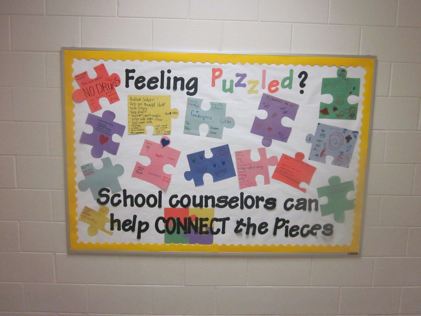 School Office Bulletin Board Ideas Counseling Ideas Pinterest