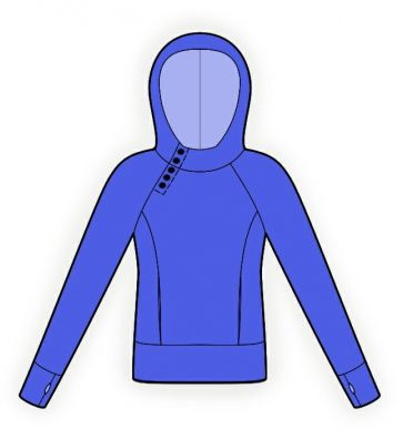 Lekala Hoodies Pattern (you can put in your measurements and they ...