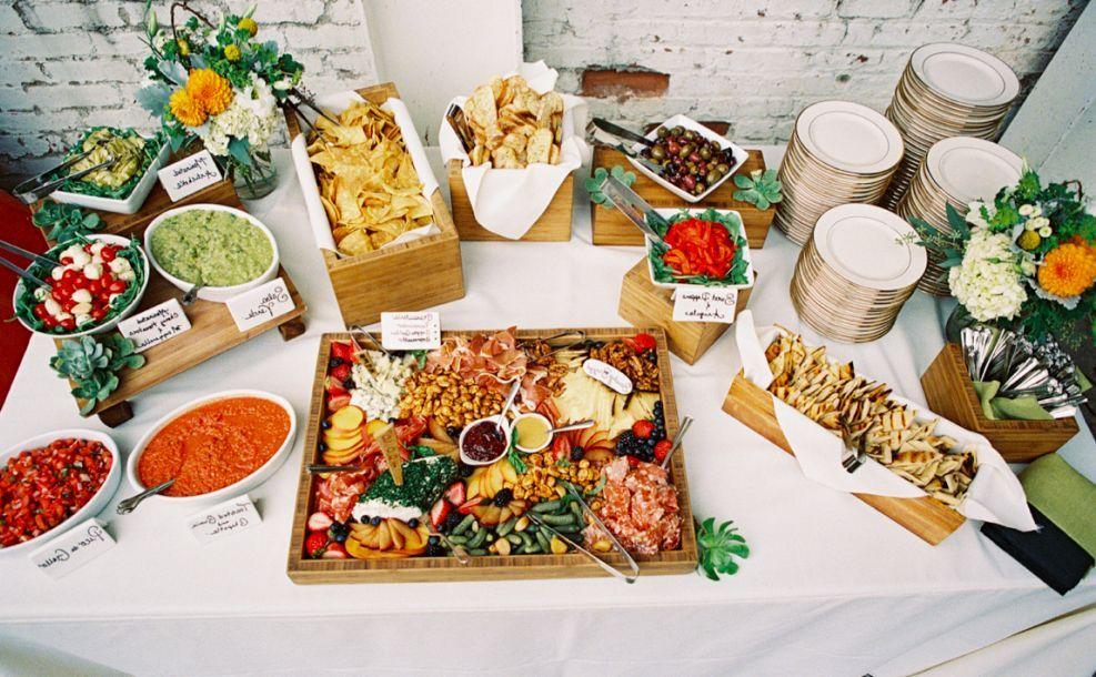 Cocktail Wedding Reception Food