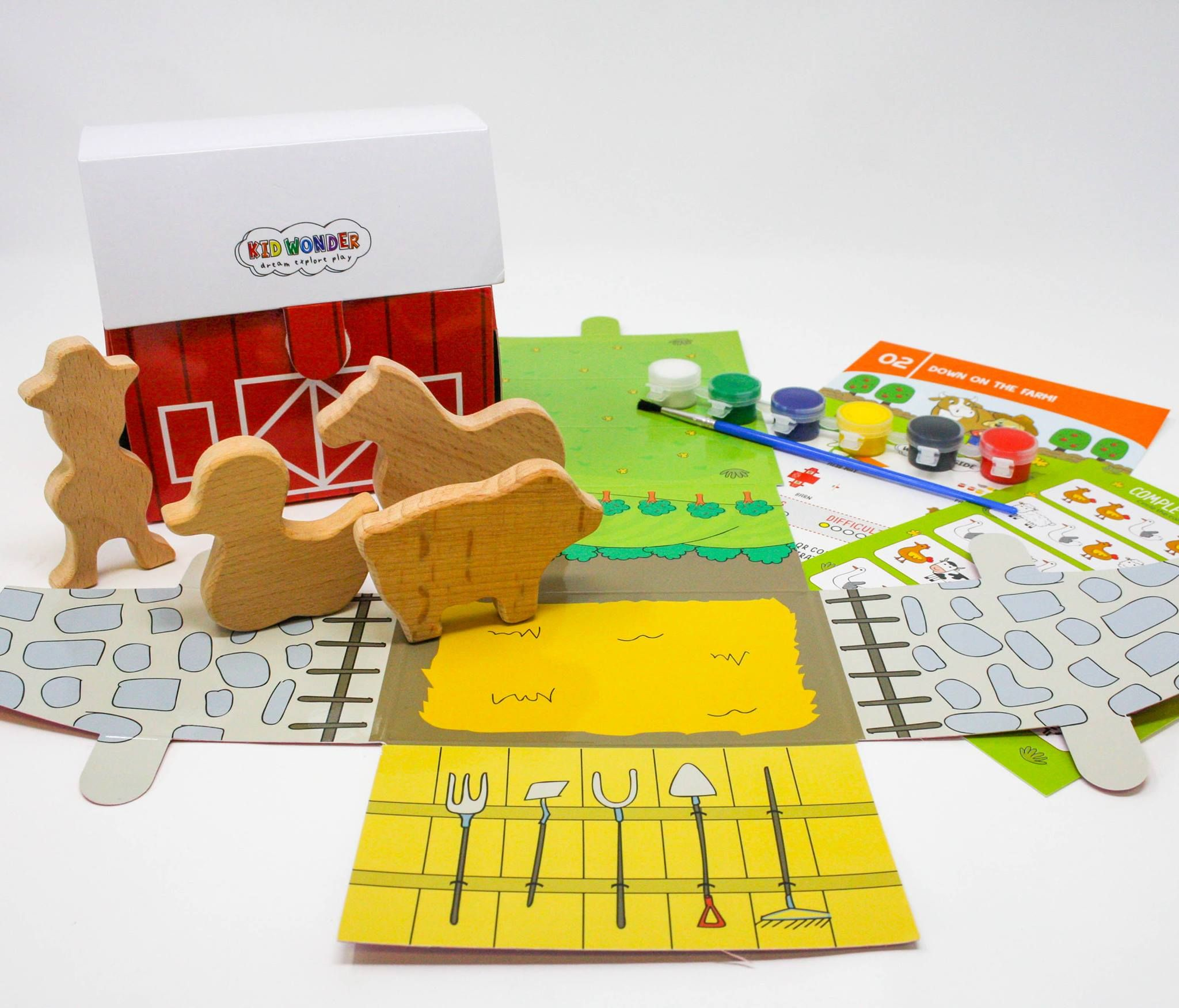 Homeschool Farm Worksheets In Our Let S Play Fun At The