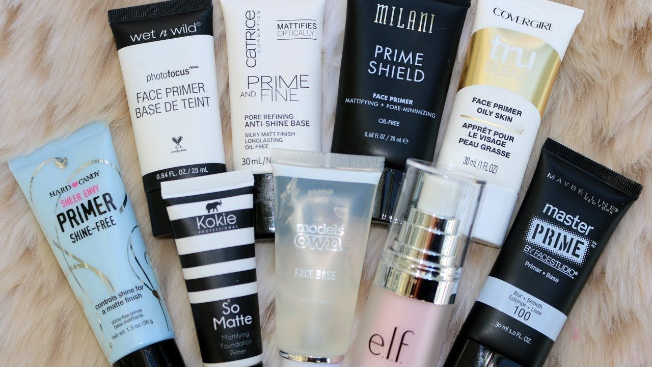 Best and Worst Drugstore Face Primers 9 WEAR TESTS