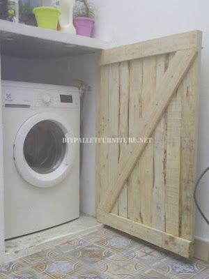 Mueble lavadora terraza casa pinterest terrazas - Mueble lavadora secadora ...