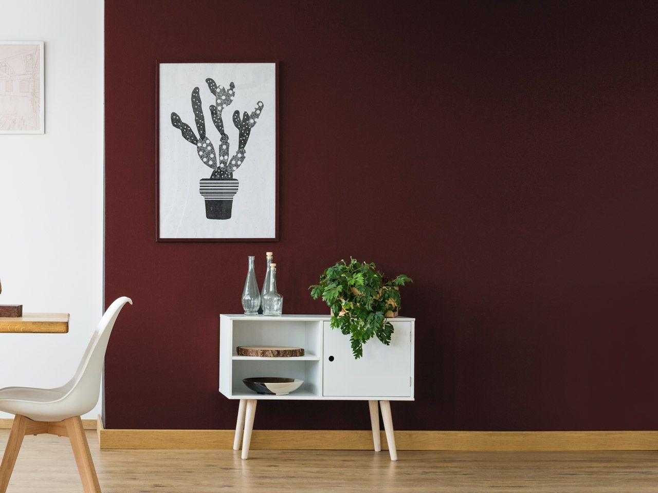 Farbpsychologie Fur Die Wohnung Warme Farben Rot Violett Orange Dekor Haus Deko Wandfarbe