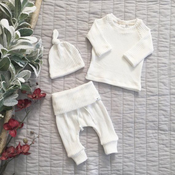 Photo of #gender neutral baby clothing, Gender neutral baby outfit, white take home outfi…