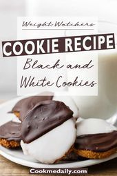 Black and White Cookies Incredible Black and White CookiesIncredible Black and White Cookies