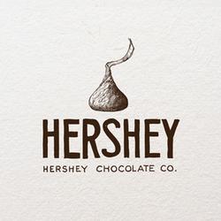 Logo Design For Hershey By Agi Amri Logo Design Professional Logo Design Custom Logo Design