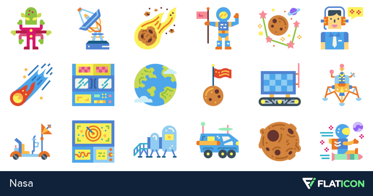36 free vector icons of Nasa designed by smalllikeart
