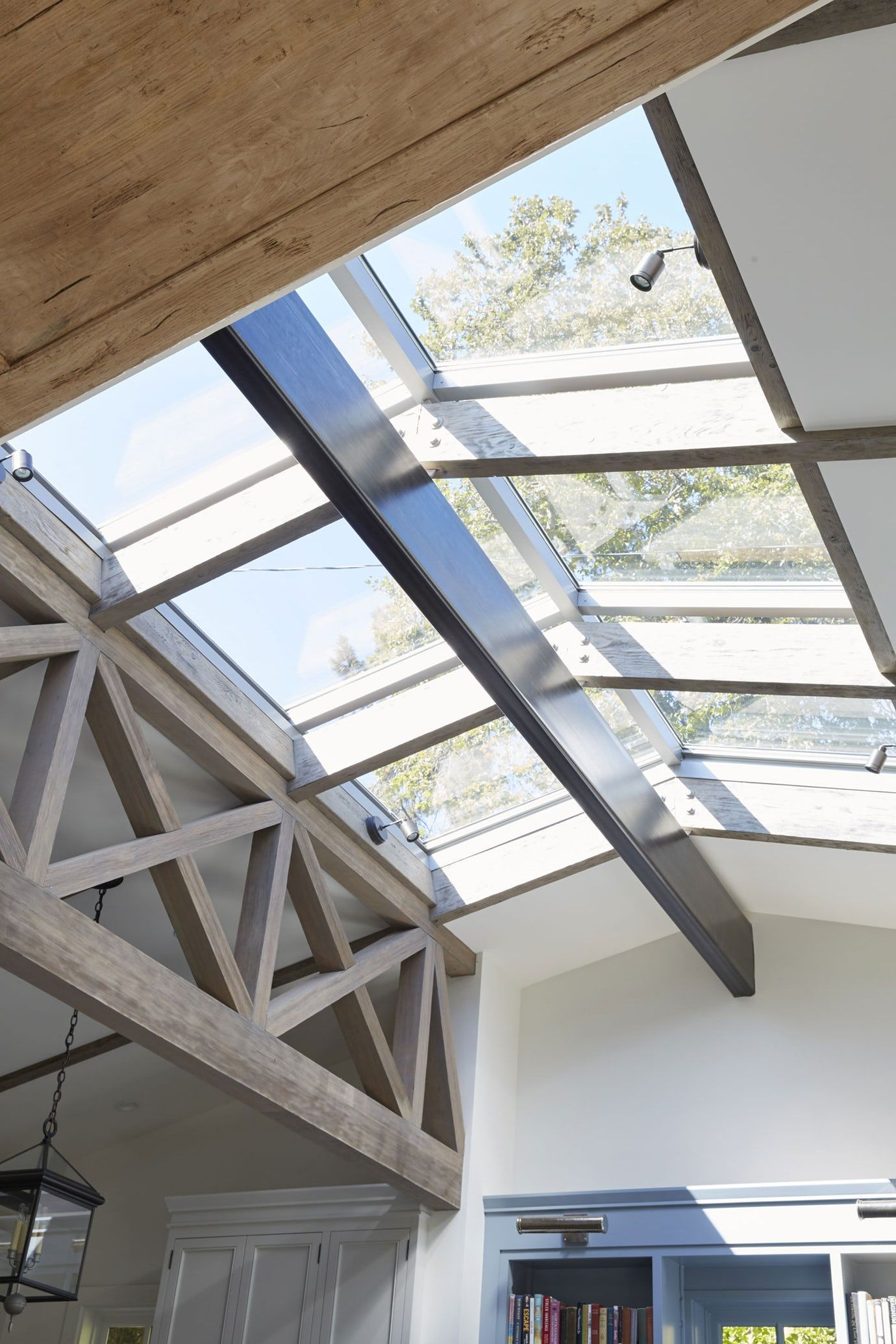 Skylight Detail In A Ranch House Renovation Architectural Detail Design Detail Contemporary Amer Skylight Architecture Skylight Design Architecture Details