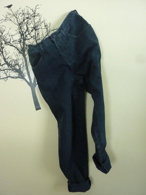 1980s Armani Dark Denim Jeans High Waisted by rileybella123, $34.00