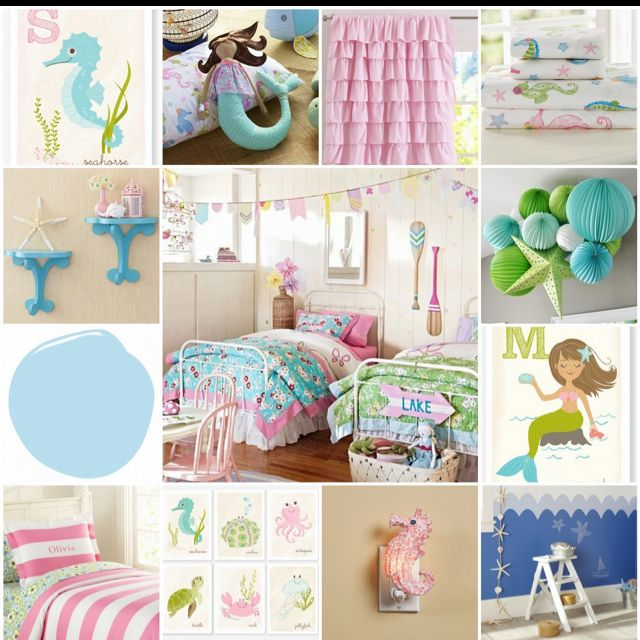 Bedroom Athletics Katy Bedroom Paint Ideas With White Furniture Bedroom Apartment Decorating Ideas Bedroom Ideas Quotes: Inspiration Board For Girly Ocean Themed Bedroom. Will Use