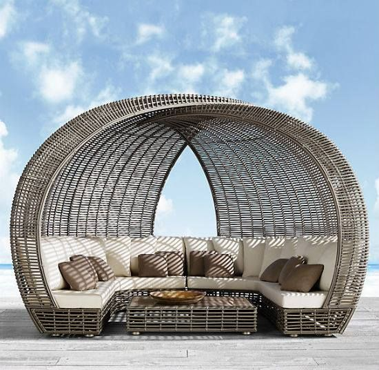 Daybed | Outdoor loungers, House and home magazine ... on Living Spaces Outdoor Daybed id=16116