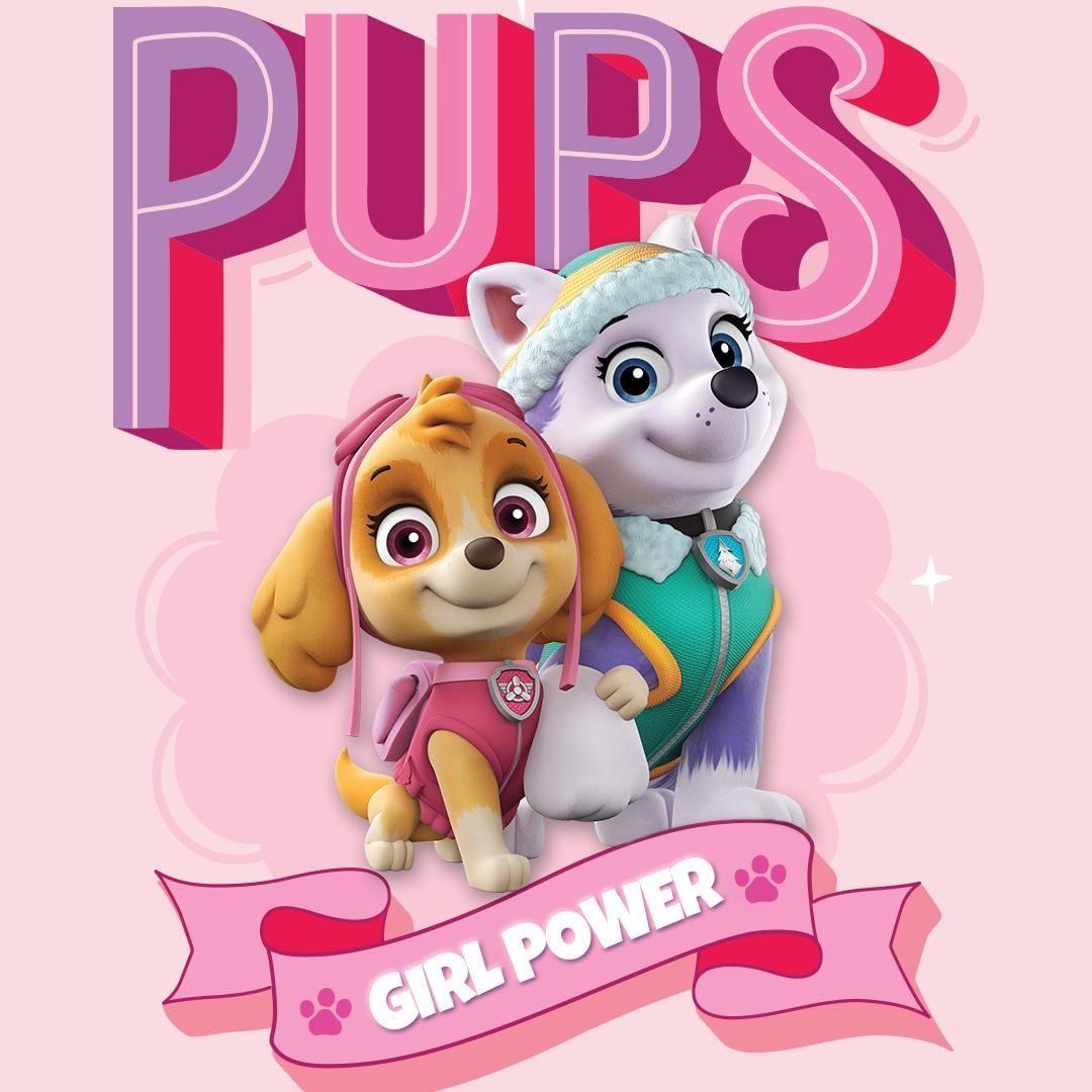 Paw Patrol On Instagram Being A Girl Is Our Pup Power Internationaldayofthegirl Pawpatrol Pups Paw Patrol Girl Everest Paw Patrol Paw Patrol