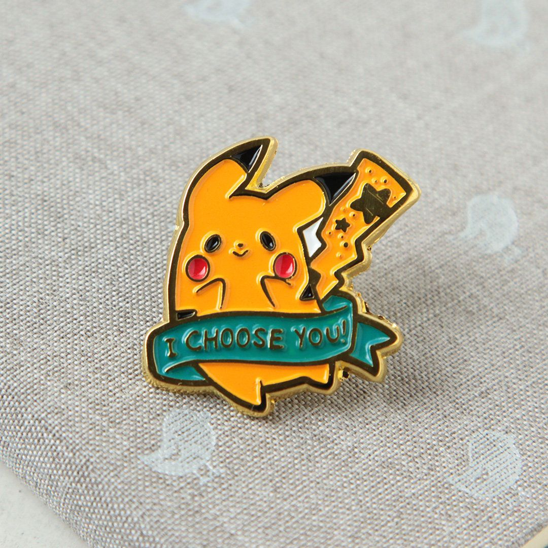 Pikachu & Eevee Pins made by CommanderMittens -