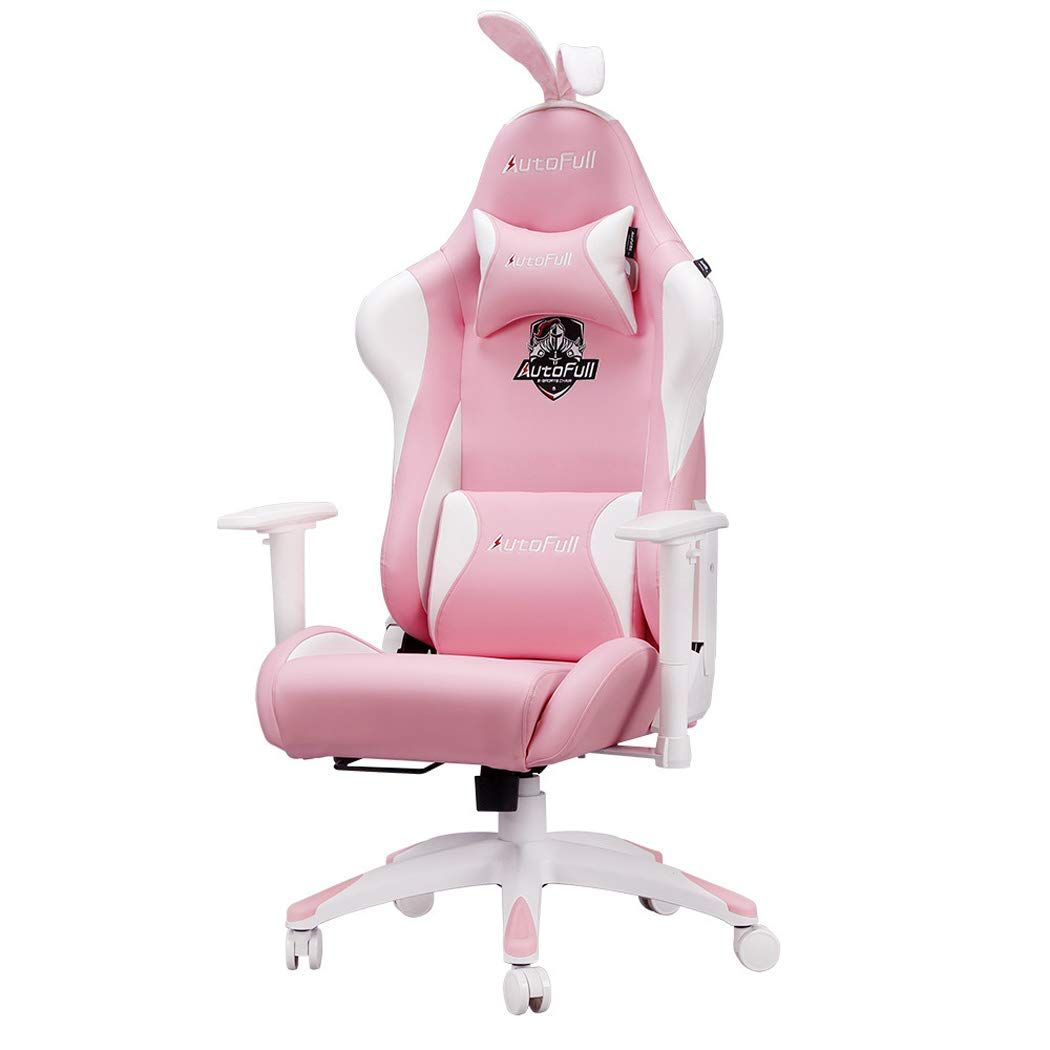 Sxshyufc Rose Chaise Gaming Ergonomique Pour Chaise De Jeu Pour Ordinateur Avec Support Lombaire Avec Des En 2020 Chaise Gaming Design De Salle De Jeux Chaise De Jeu