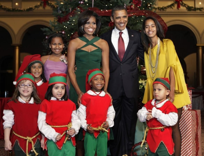 Obama Christmas.Obama Christmas Card Ctr9mca7 Winter Holiday Home Barack