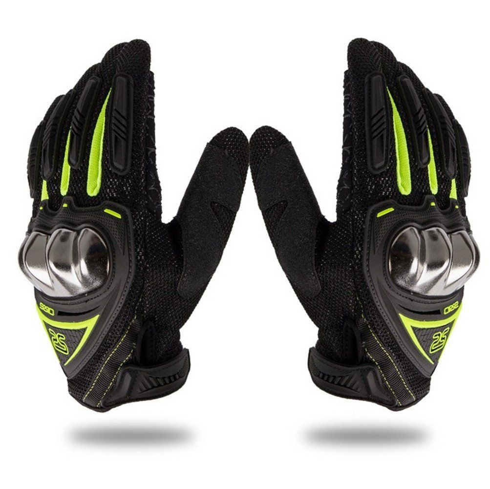 Wonzone Steel Reinforced Knuckle Motorcycle Gloves