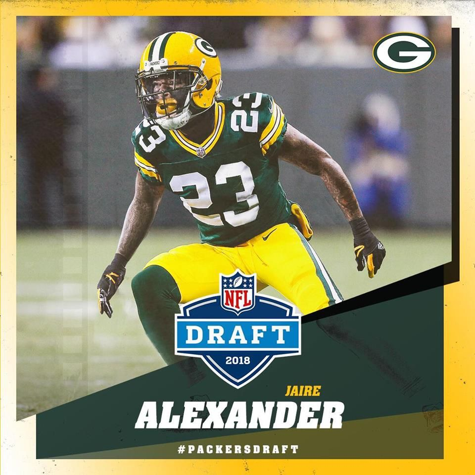 Welcome To The Packers Jaire Alexander 2 3 For The Packers Gopackgo Packersdraft Green Bay Packers Packers Green Bay