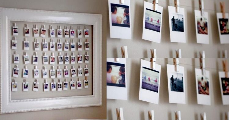 fotokollage im bilderrahmen und fotos aufh ngen 1 pinterest fotokollage fotos aufh ngen. Black Bedroom Furniture Sets. Home Design Ideas