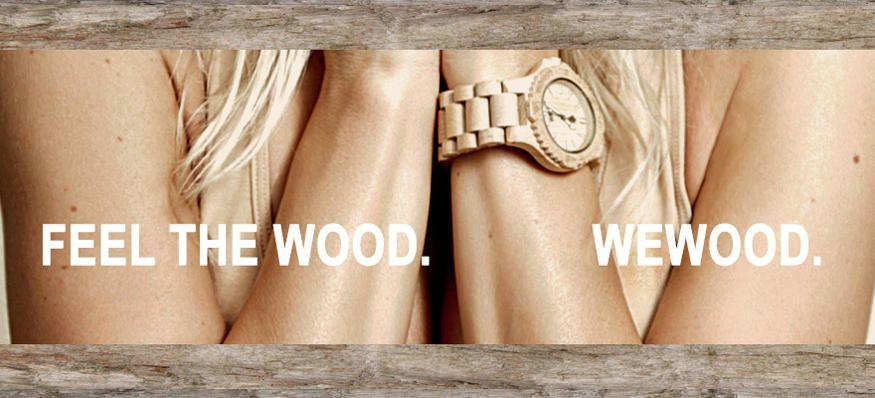 Watches from Wood! I totally thought of this in high school. Fun fact, I designed jewelry back then.